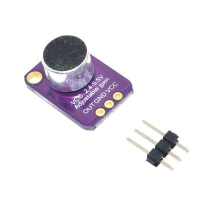 - MAX4466 Electret Microphone Module