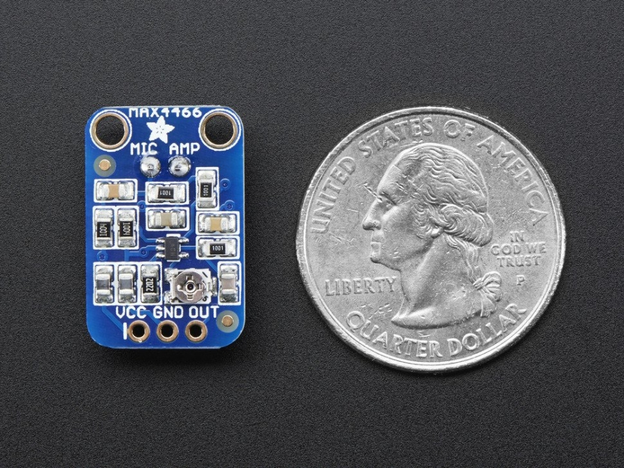 MAX4466 Electret Microphone Module