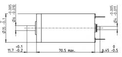 MAXON DCX 35L DC Motor - Thumbnail