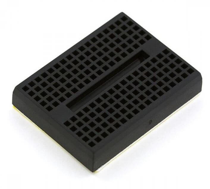 Mini Black Breadboard 170 Pinhole