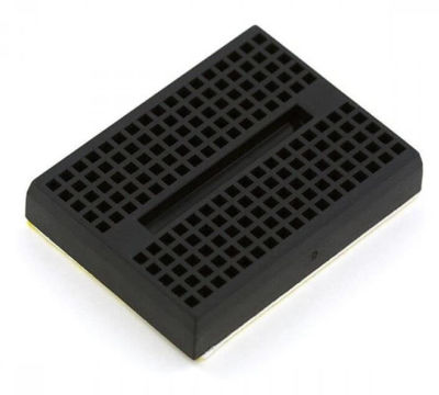 - Mini Black Breadboard 170 Pinhole