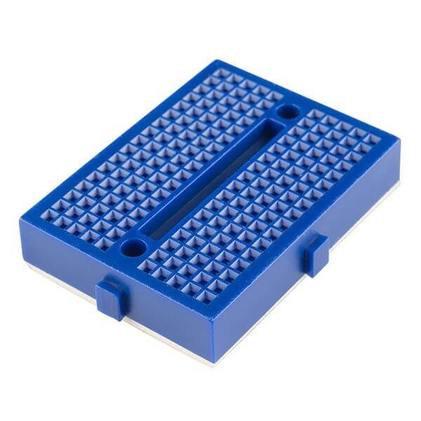 Mini Blue Breadboard 170 Pinhole
