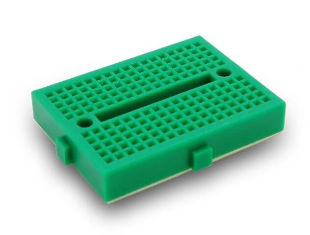 Mini Green Breadboard 170 Pinhole