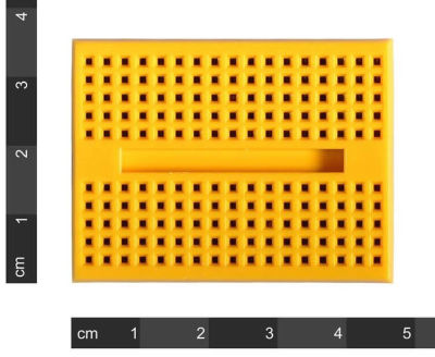 - Mini Yellow Breadboard 170 Pinhole (1)