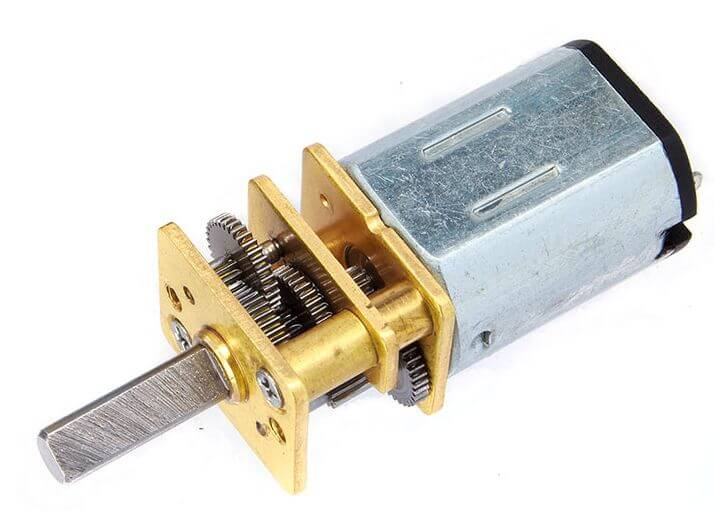MP12 Micro Gear Motor 6V 1500RPM LP