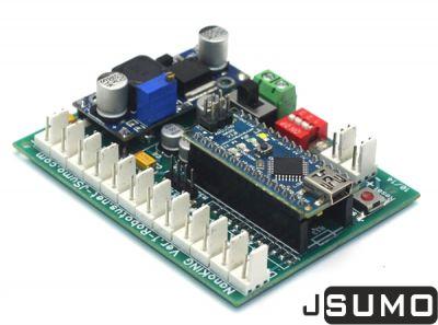 NanoKING Sumo Robot Controller Board