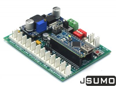 Jsumo - NanoKING Sumo Robot Controller Board