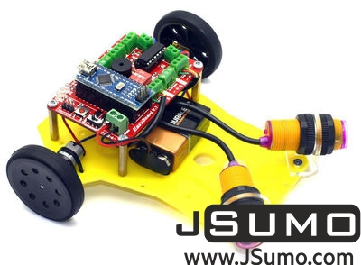 Jsumo - PREX Obstacle Avoidance Robot Kit (1)
