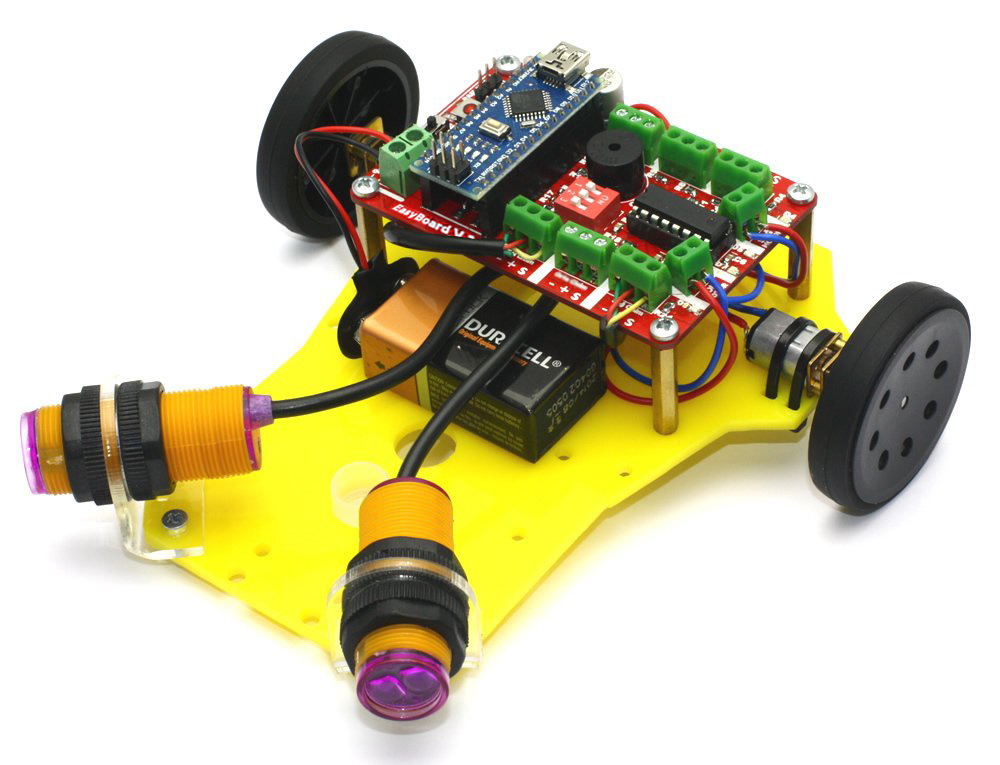 PREX Obstacle Avoidance Robot Kit