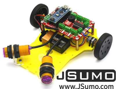Jsumo - PREX Obstacle Avoidance Robot Kit