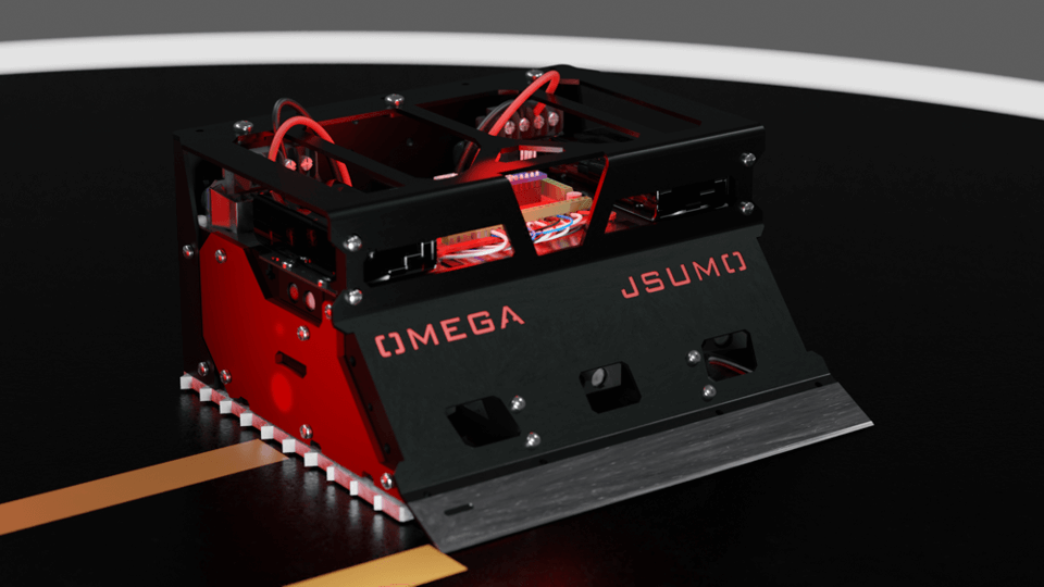 OMEGA Sumo Robot Full Kit (Assembled)