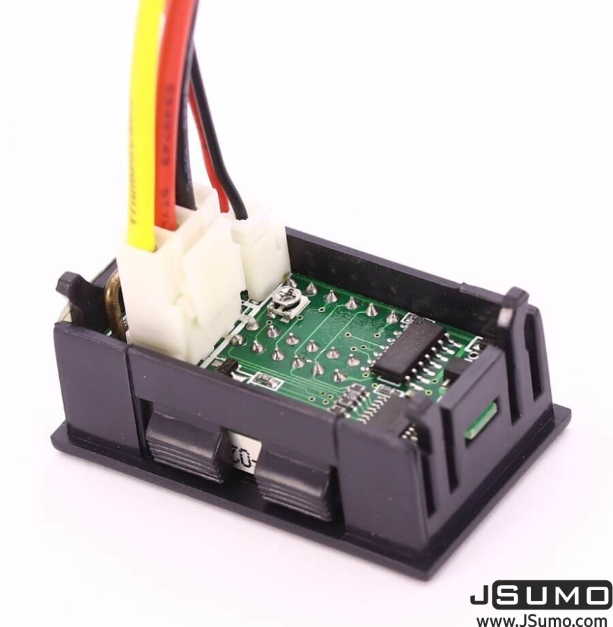 Panelmeter Voltmeter & Ammeter (4.5-30V & 10A)
