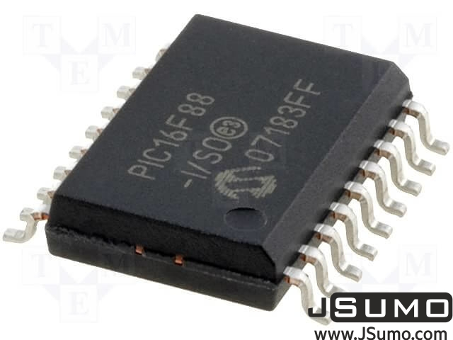 PIC16F88 MICROCHIP SMD MCU (16 I/O)