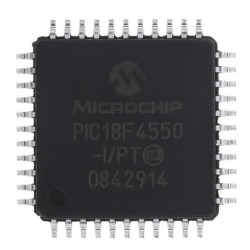 PIC18F4550 SMD USB Supported MCU - Thumbnail