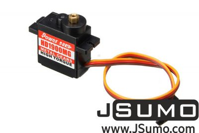 PowerHD - PowerHD Copper Gear Mini Analog Servo Motor - HD-1900MG
