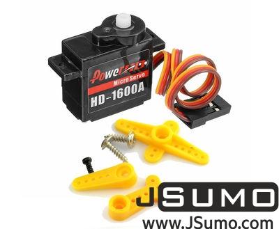 PowerHD - PowerHD HD-1600A Micro Servo Motor