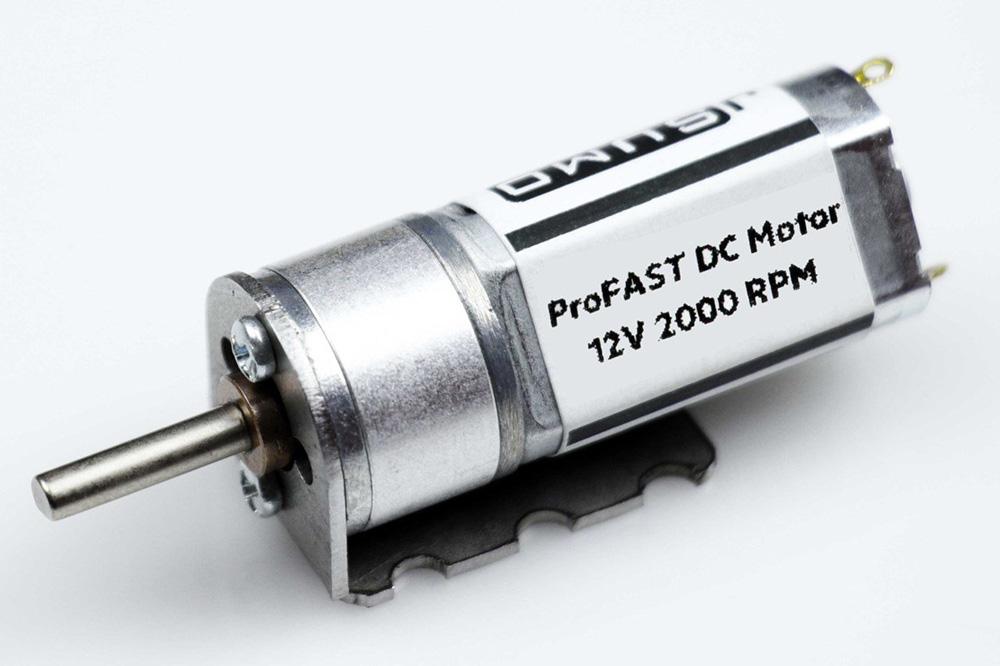 ProFast 12V 2000RPM Fast Gearmotor