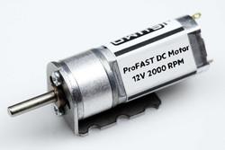 ProFast 12V 2000RPM Fast Gearmotor - Thumbnail