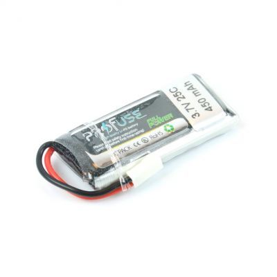 - Profuse 1S 3,7V 450 Mah LiPo Cell Battery