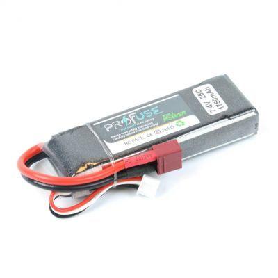 - Profuse 2S 7.4V 1750 Mah LiPo Battery