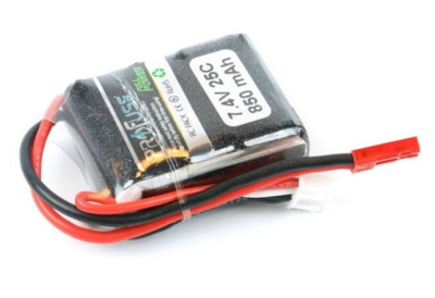 - Profuse 2S 7.4V 850 Mah LiPo Battery