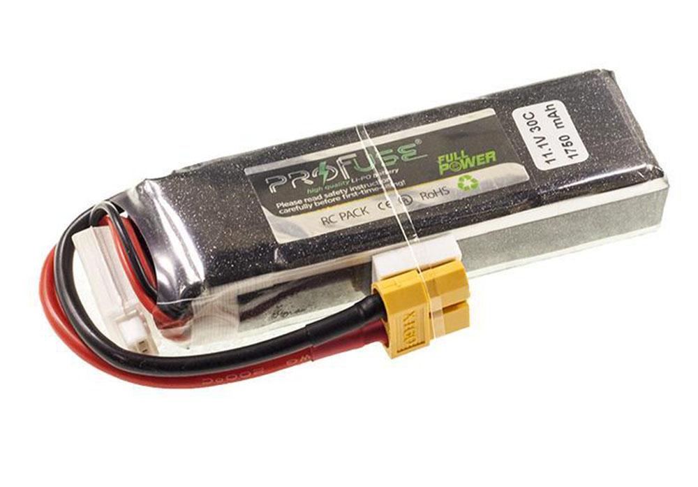 Profuse 3S 11.1V Lipo Battery 1750mAh 30C
