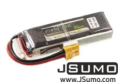 - Profuse 3S 11.1V Lipo Battery 2250mAh 25C