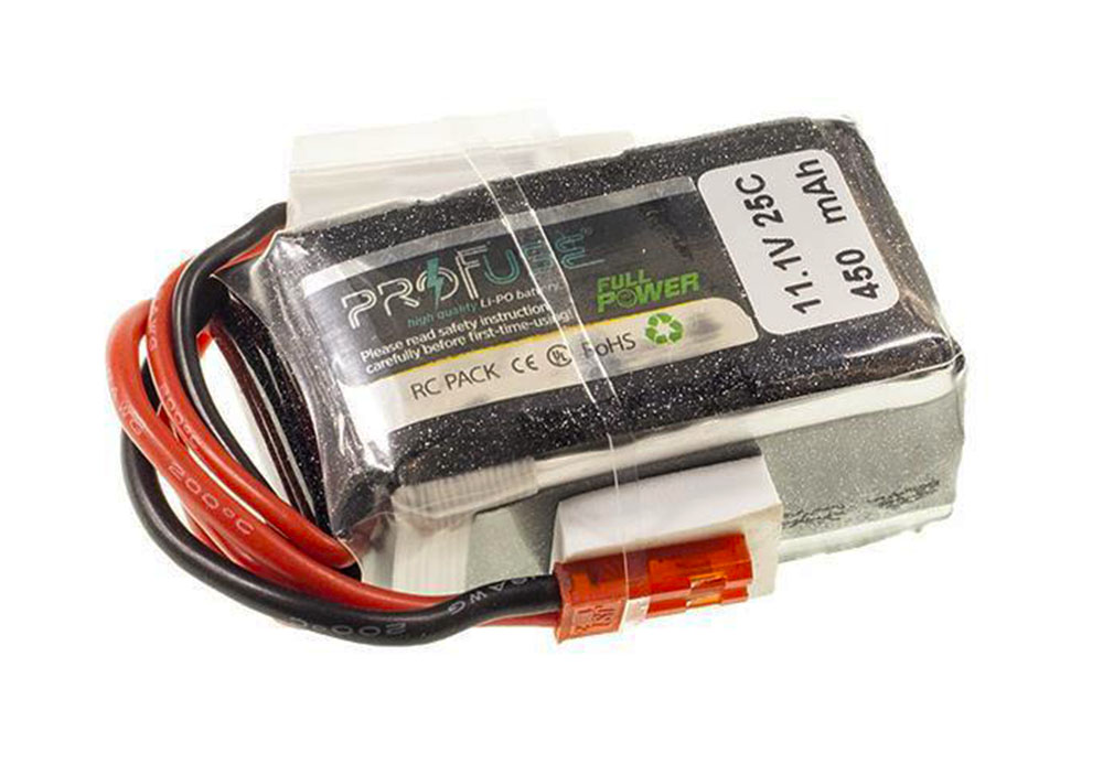 Profuse 3S 11.1 Volt 450 Mah LiPo Battery
