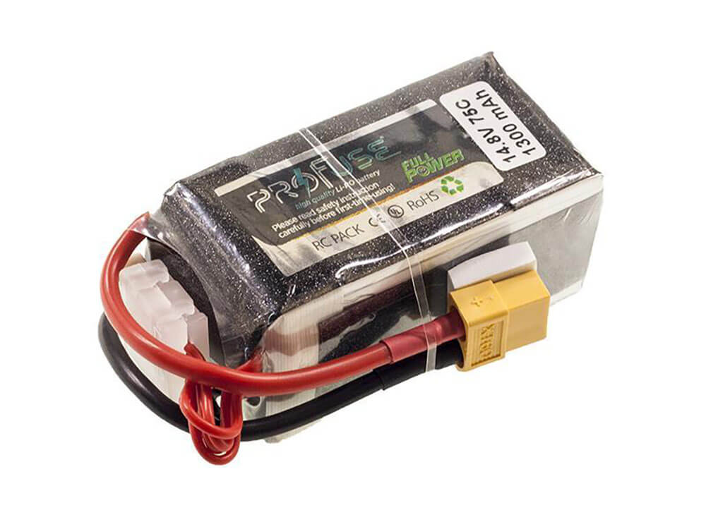 ProFuse 4S 14,8V 1300mAh 75C Lipo Battery