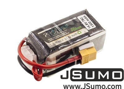 - ProFuse 4S 14,8V 1300mAh 75C Lipo Battery