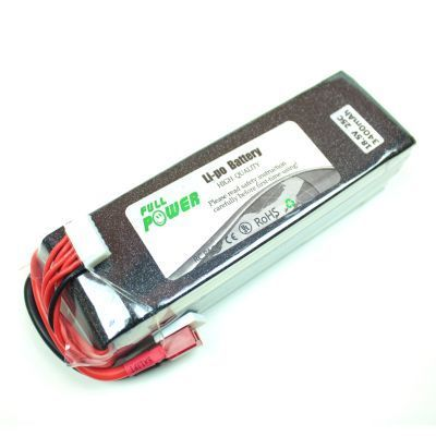 - Profuse 5S 18,5V Lipo Battery 3400mAh 25C