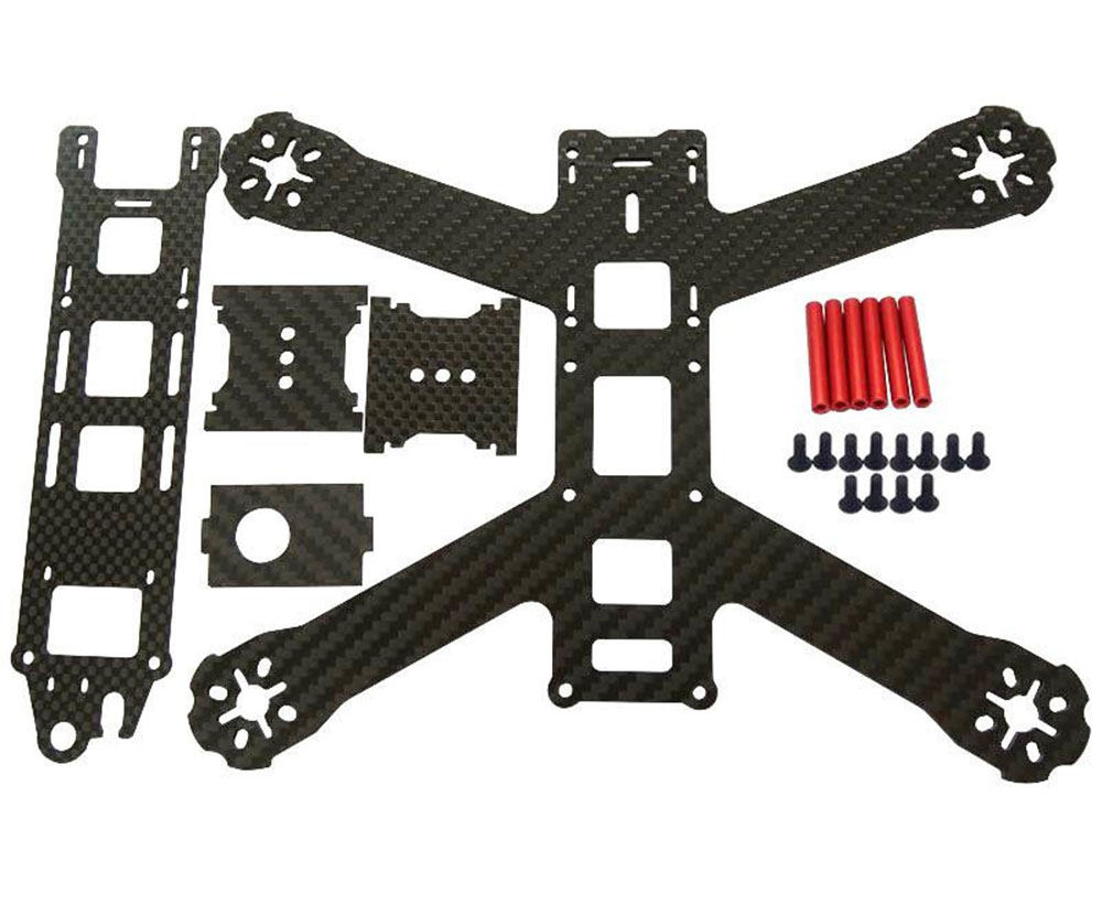 QAV180 Mini Quadcopter Drone Racing Carbon Fiber Chassis 180mm