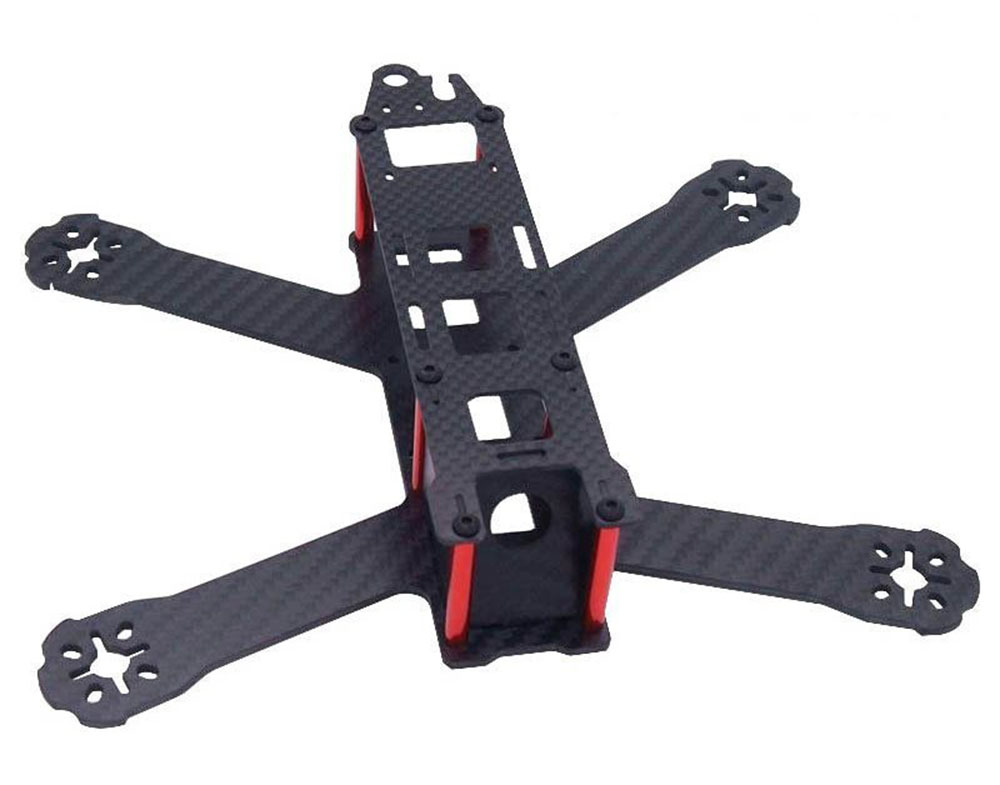 QAV210 Mini Quadcopter Drone Racing Carbon Fiber Chassis 210mm