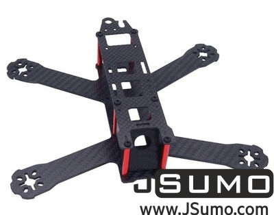 - QAV210 Mini Quadcopter Drone Racing Carbon Fiber Chassis 210mm