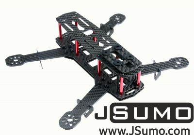 Jsumo - QAV250 Drone Chassis (Carbon Fiber Unassembled Kit)
