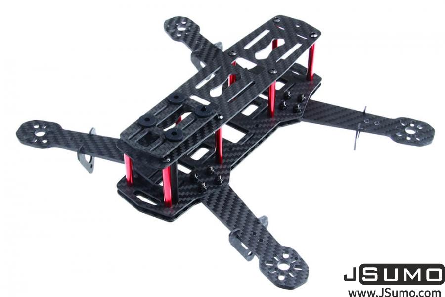 QAV250 Drone Chassis (Carbon Fiber Unassembled Kit)