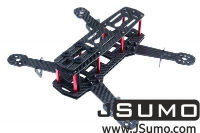 Jsumo - QAV250 Drone Chassis (Carbon Fiber Unassembled Kit) (1)