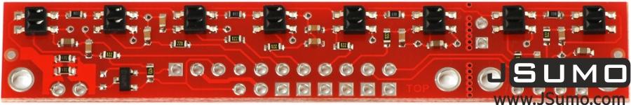 QTR-8A Line Sensor (Analog)