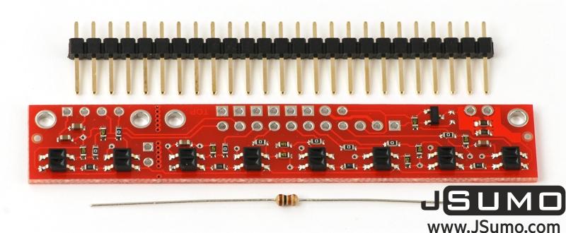 QTR-8RC Line Sensor (RC Time Digital)