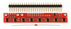 QTR-8RC Line Sensor (RC Time Digital) - Thumbnail