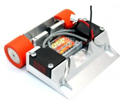 REM! Premium Mini Sumo Robot Chassis - Thumbnail