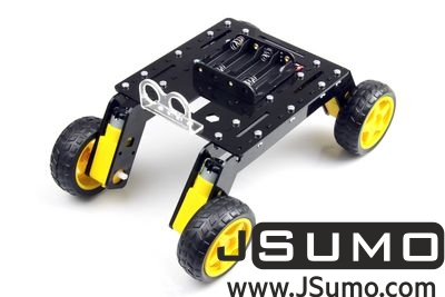 Jsumo - Rover 4WD Explorer Mobile Robot Chassis (Plexiglass Body) (1)
