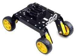 Rover 4WD Explorer Mobile Robot Chassis (Plexiglass Body) - Thumbnail