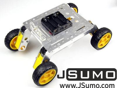 Jsumo - Rover 4WD Explorer Mobile Robot Chassis (Aluminum Body)