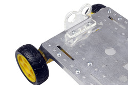 Rover 4WD Explorer Mobile Robot Chassis (Aluminum Body) - Thumbnail