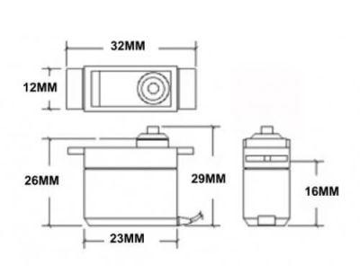 TowerPro - SG90 Micro Servo Motor (1)