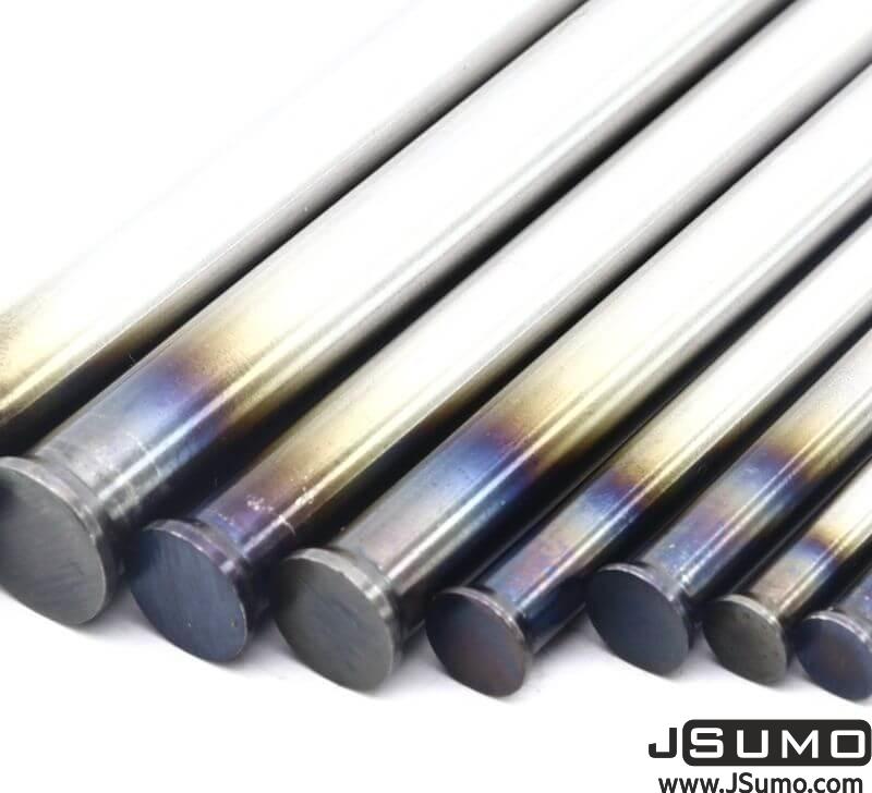 Processed Steel Shaft Ø3mm Diameter 81mm Length