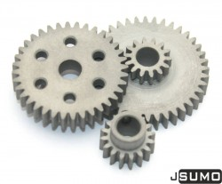 Steel Gear Bundle (0,8 Module - 6,42:1 Reduction) - Thumbnail