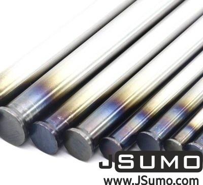 Jsumo - Processed Steel Shaft Ø4mm Diameter 81mm Length