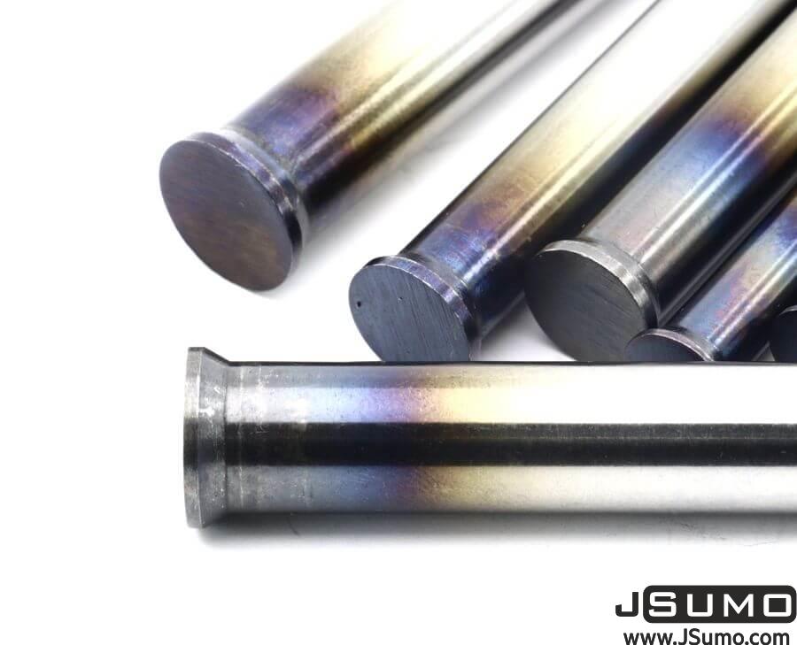Processed Steel Shaft Ø4mm Diameter 81mm Length